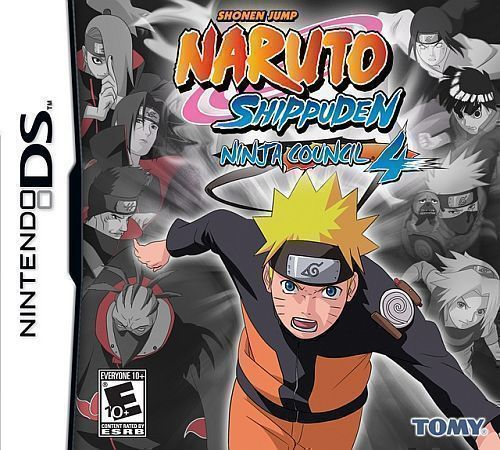 3828 - Naruto Shippuden - Ninja Council 4 (US) - Nintendo DS